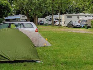Pole namiotowe Mazury Polska